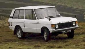 Range Rover up to 1985