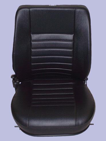 Front Black Seats