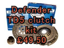 TD5 clutch kit