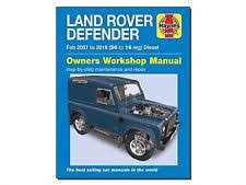 DEFENDER WORKSHOP MANUAL