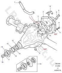 110/130 Rear Axle