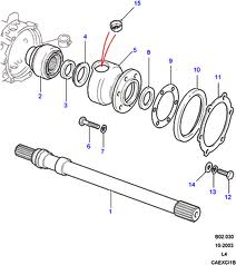 Drive Shafts NON ABS TO JA032850