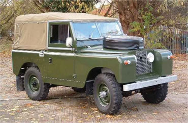 Series Landrovers
