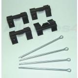 Brake Pad Fitting Kit Rear For SFP000270 (Britpart) STC8574
