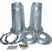 Front Shock Absorber Mounting Turret Kit Galvanised (Britpart) DA1186