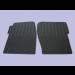 Floor Mats Front D2 (Rubber) DA4424